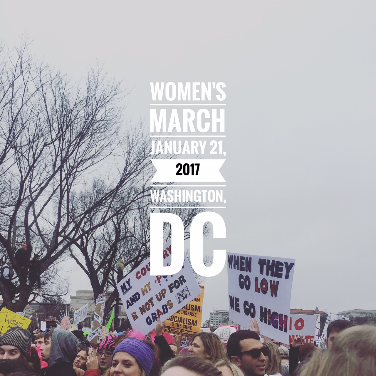 The TASC Group at the Women's March