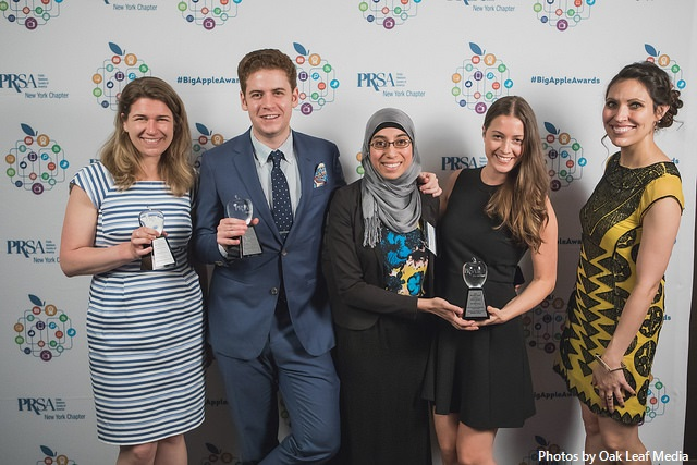 The TASC Group Wins Four Big Apple Awards from the Public Relations Society of America New York Chapter